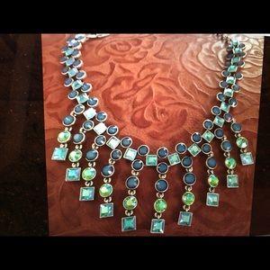 Jewelry - Givenchy Vintage Rhinestone Waterfall Necklace WoW